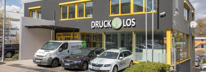 Firma Druck-Los GmbH - Kopierer Angebot Stuttgart